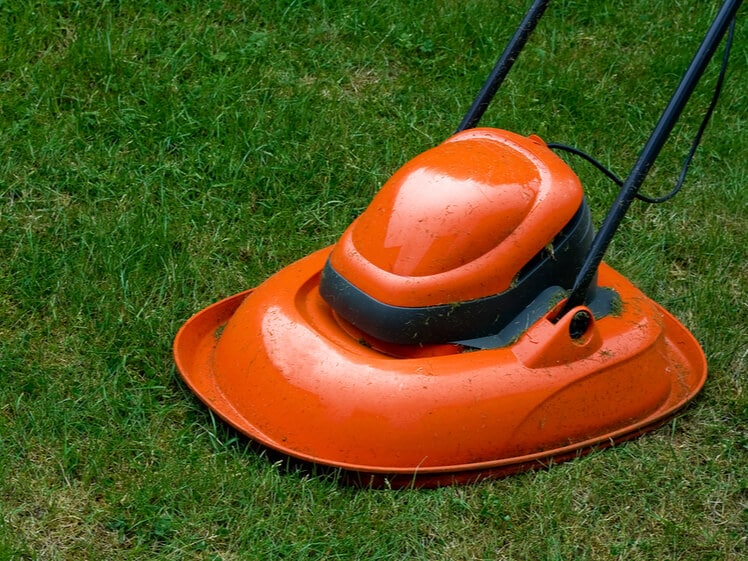hover mower type