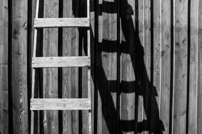 history of the ladder who invented the ladder